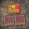 "TOYOTA PATCH SET ""Nod to Ivan Stewart"""
