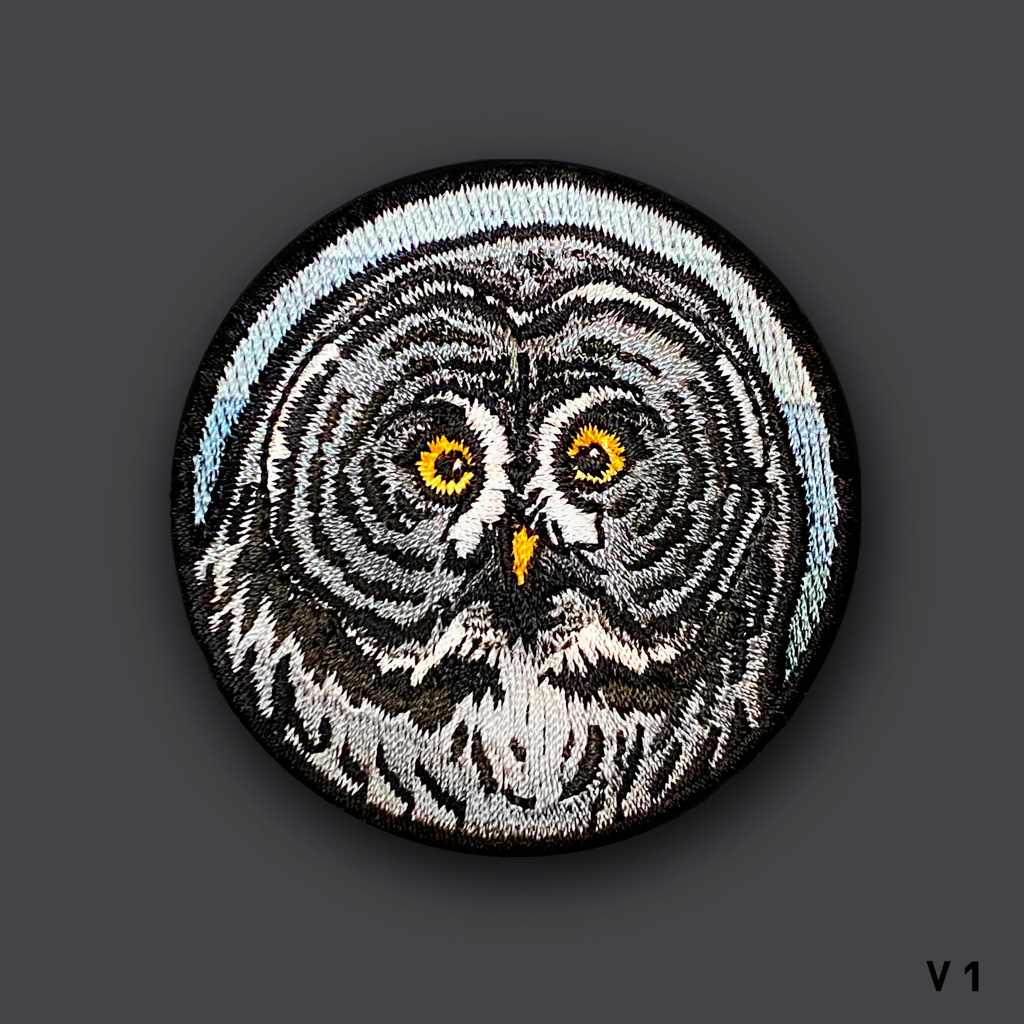 "Wildlife V1 ""GREAT GRAY OWL"" Morale Patch"