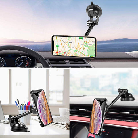 Amoner Magnetic Telescopic Phone Holder