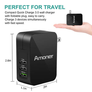 Amoner Compact Fast Charger