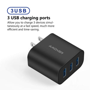 Amoner Multi-Port Phone Charger