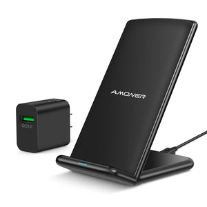 Amoner Wireless Charger & 18W QC Charger