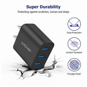 Amoner Durable Charger Black