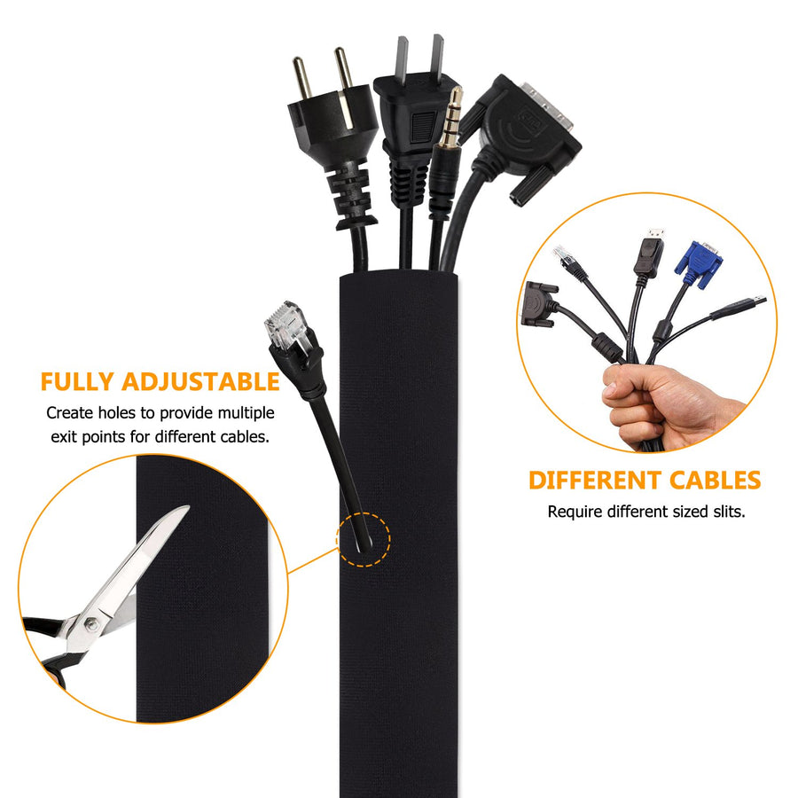 Amoner Cable Management Sleeve