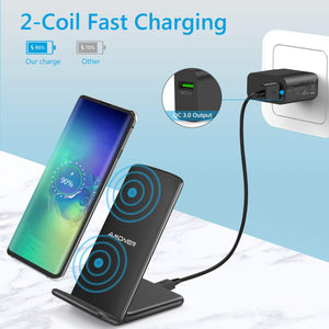 iamoner Wireless Charger & 18W QC Charger