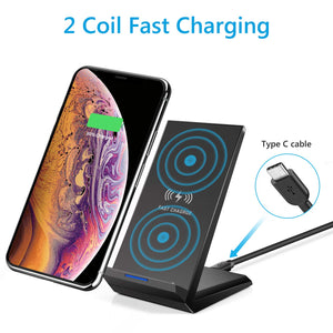 Amoner 2 Coil Wireless Charger For Germans