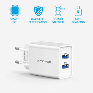 Amoner Smart IC Phone Charger For Germans