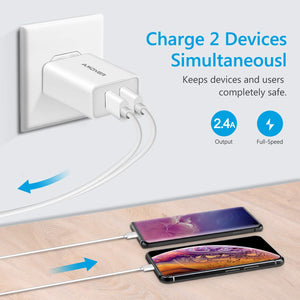 Amoner Fast Charger For iPhone & Android