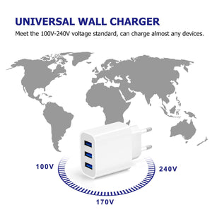 Amoner Wide Compatibility Charger For Spain