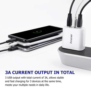 Amoner 3A Output Charger For Spain