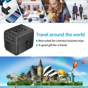 Amoner Travel Adapter