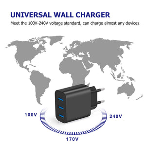 Amoner Universal Compatibility Charger For France