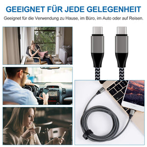 Amoner USB Type C Cable For Germany