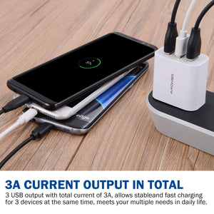 Amoner Fast Charger For iPhone & Android For Germany