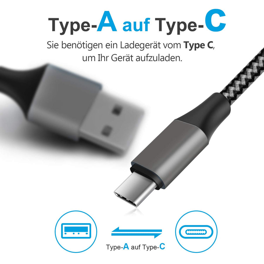 Amoner Type C Cable For iPad Pro, Android Phone, Macbook & More For Germany