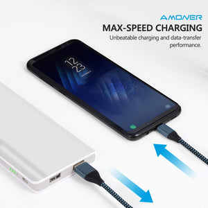 Amoner Fast Charging & Sync USB C Cable