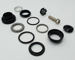 "3060 - Threadless Headset suit 1  1/8"" - Sealed Cartridge Bearings - BLACK"