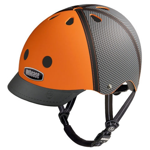 Nutcase Tucker Orange Street Helmet Gen3 Medium