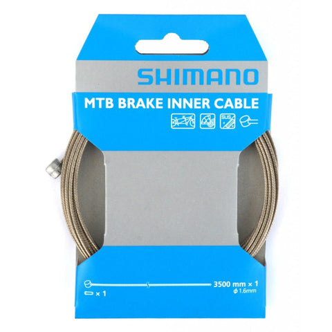 Shimano Stainless Brake Cable -Tandem 1.6 x 3500mm