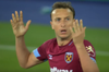 Mark Noble Gets Red Card For Slide Tackle Vs. Leicester City