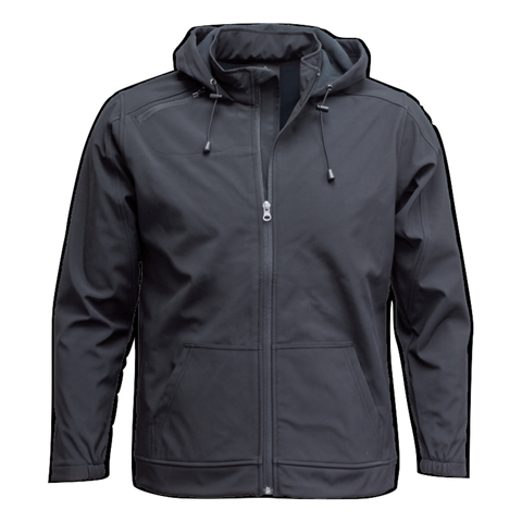 Adults 3K Softshell Jacket - Colour Black