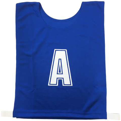 Image of 5-a-Side Bib Set - Colour Royal Blue