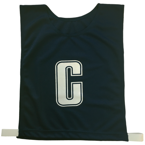 Image of 6-a-Side Bib Set - Colour Black