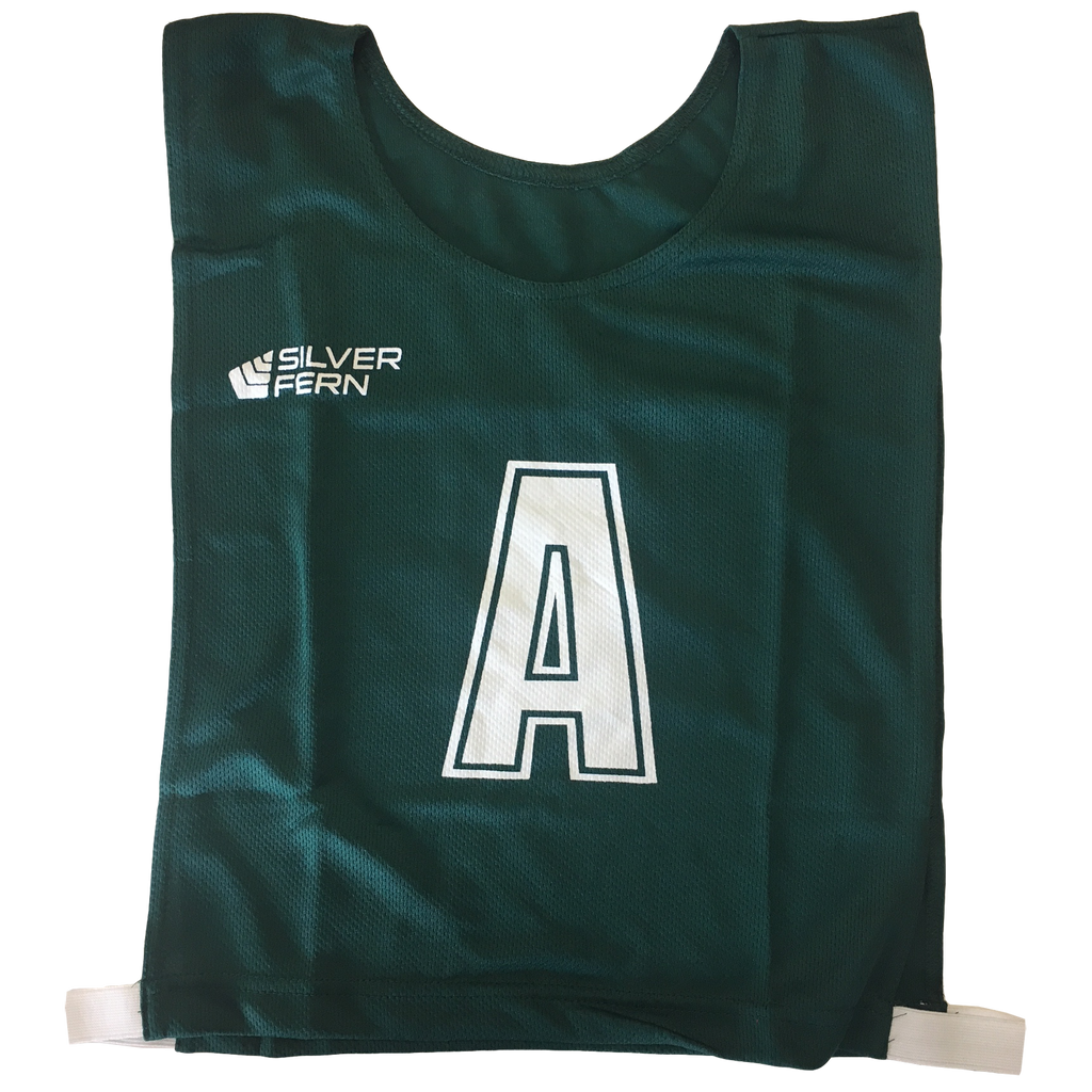 6-a-Side Bib Set, Colour: Green