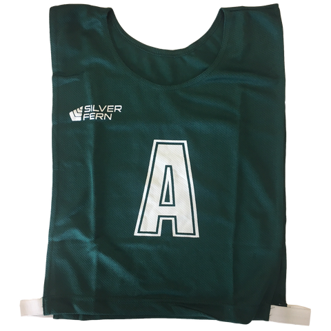 Image of 6-a-Side Bib Set - Colour Green