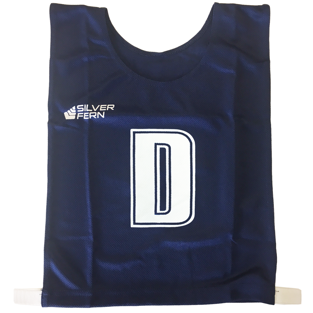 6-a-Side Bib Set - Colour Navy