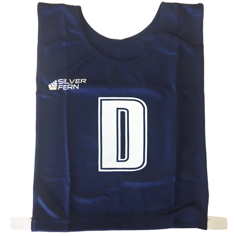Image of 6-a-Side Bib Set - Colour Navy