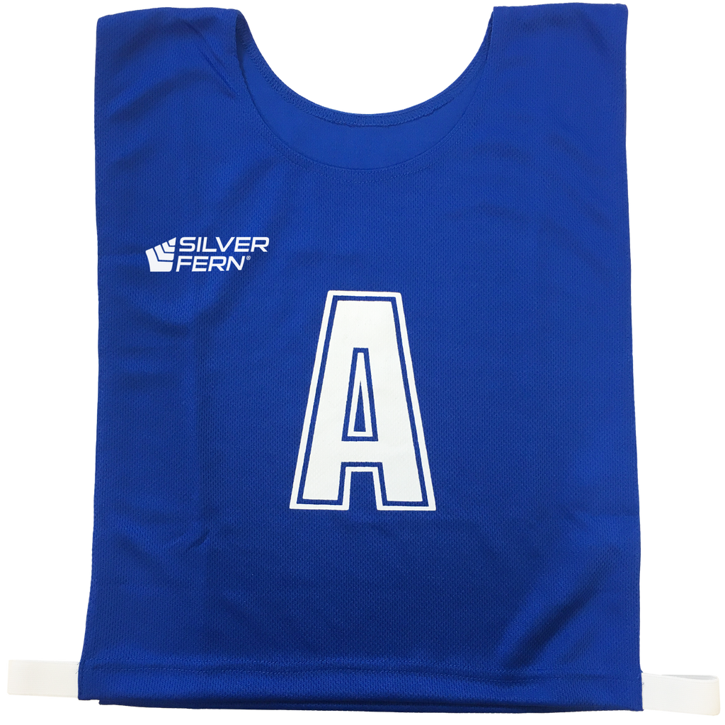 6-a-Side Bib Set, Colour: Royal Blue