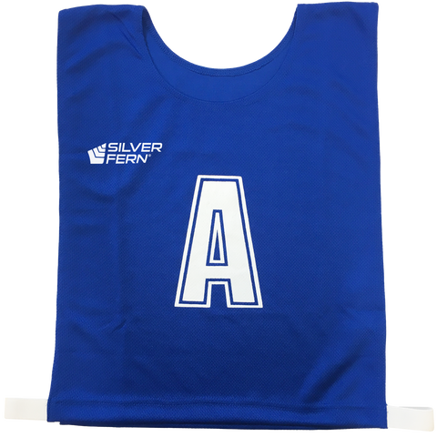 Image of 6-a-Side Bib Set - Colour Royal Blue