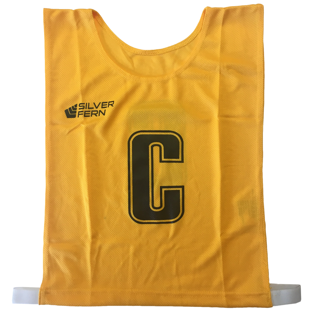6-a-Side Bib Set, Colour: Yellow