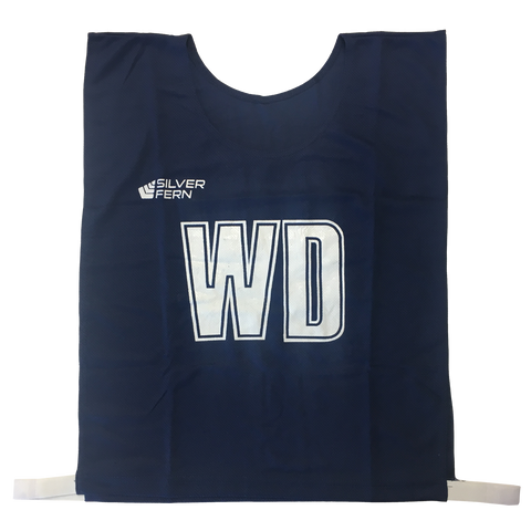 Image of 7-a-Side Bib Set, Size: Large - 51cm (L)  x 41cm (W), Elastic 55cm (one side, not stretched), Colour: Navy
