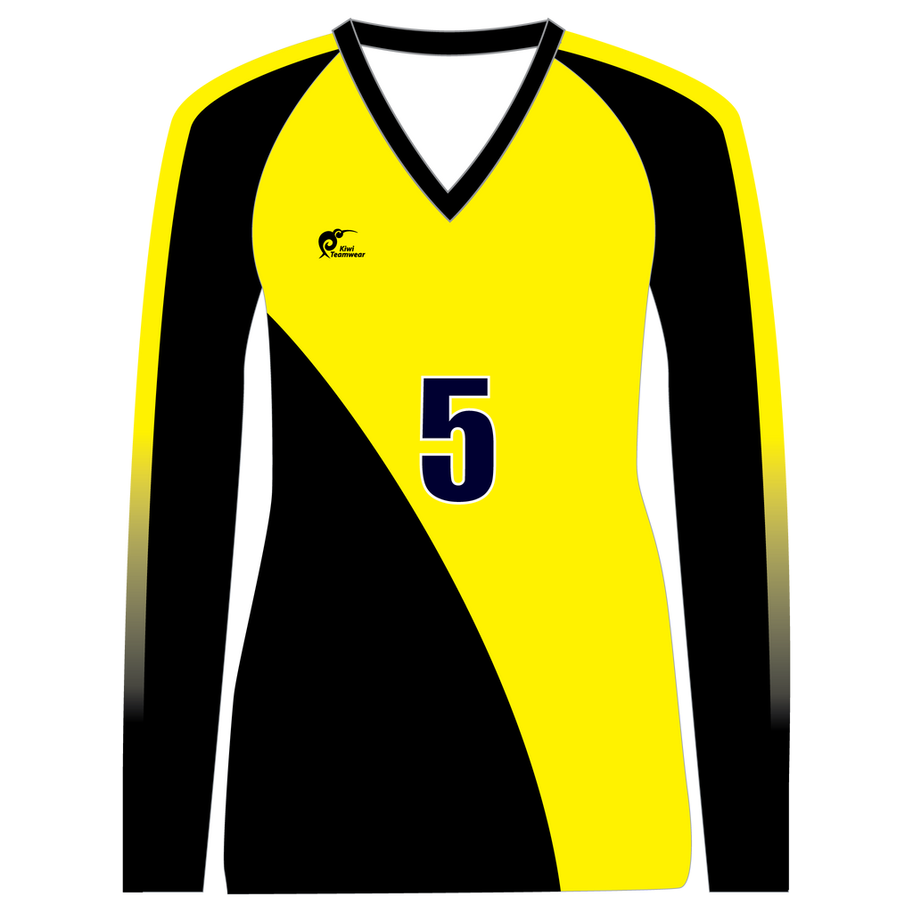 Long Sleeve Womens Volleyball Top, Type: A190002LSV