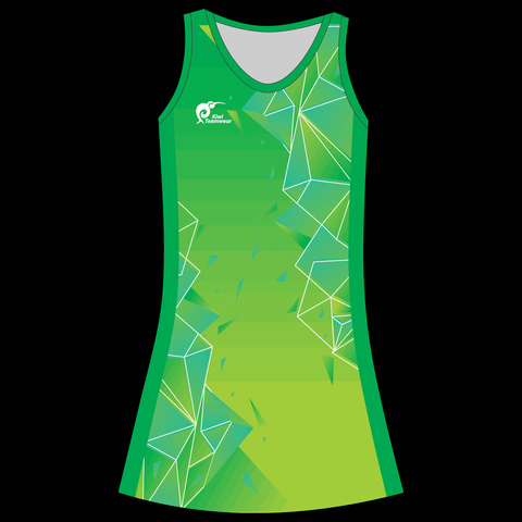 Image of Womens Sublimated Dress - Type A190022NHD
