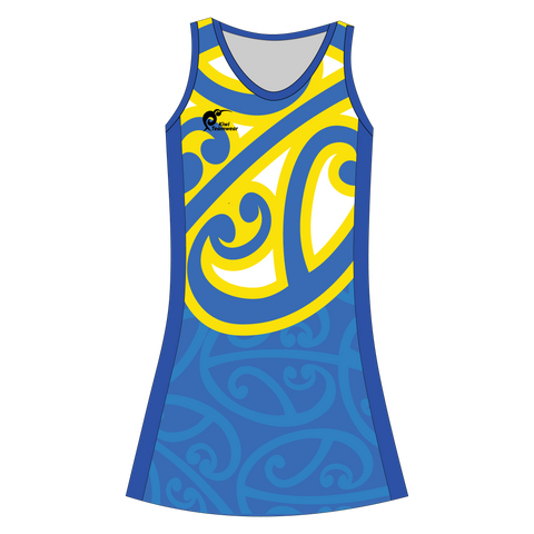 Image of Womens Sublimated Dress - Type A190026NHD