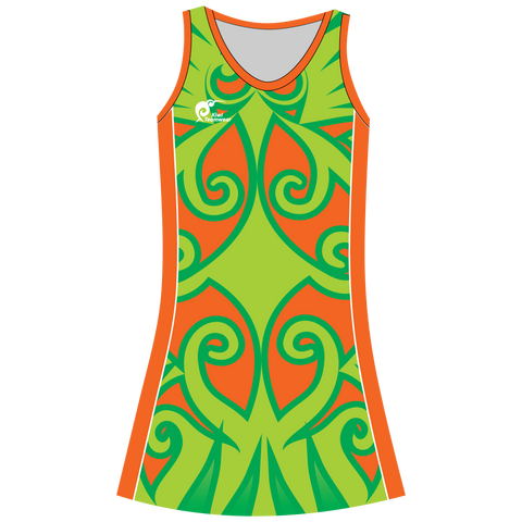 Image of Girls Sublimated Dress, Type: A190027NHD