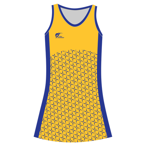 Image of Womens Sublimated Dress - Type A190029NHD