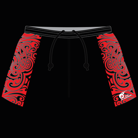 Image of Mens Sublimated Rugby Shorts - Type A190032SRS