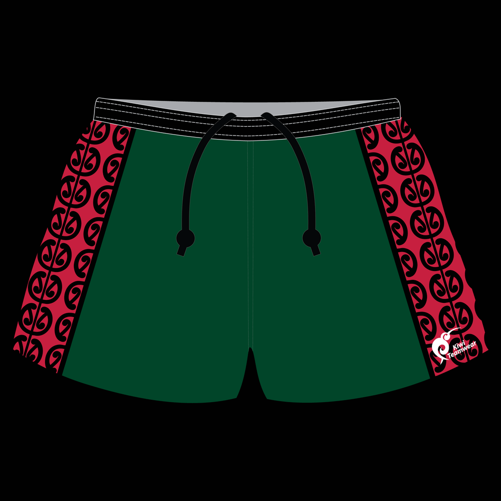 Mens Sublimated Rugby Shorts - Type A190033SRS