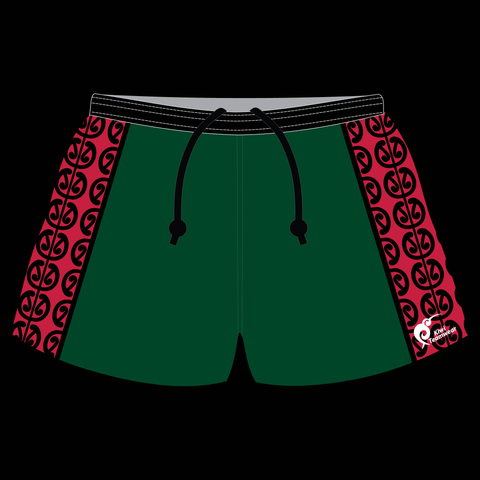 Image of Mens Sublimated Rugby Shorts - Type A190033SRS