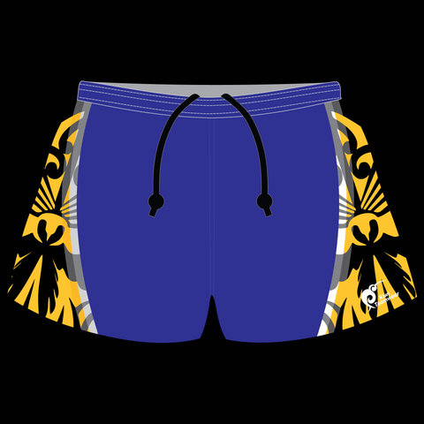 Image of Mens Sublimated Rugby Shorts - Type A190034SRS