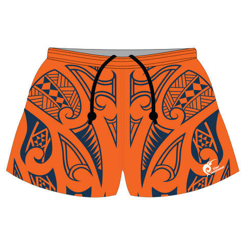 Image of Mens Sublimated Rugby Shorts - Type A190035SRS
