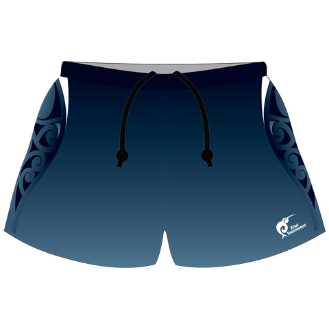 Image of Mens Sublimated Rugby Shorts - Type A190037SRS
