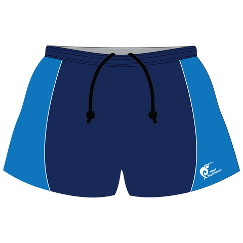 Image of Mens Sublimated Rugby Shorts - Type A190038SRS