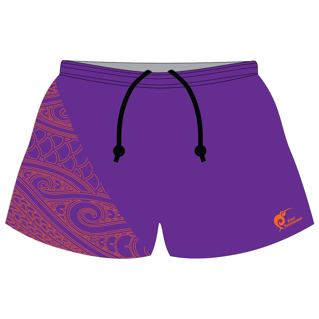 Mens Sublimated Rugby Shorts - Type A190040SRS