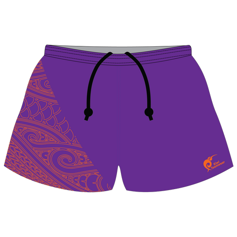 Image of Mens Sublimated Rugby Shorts - Type A190040SRS