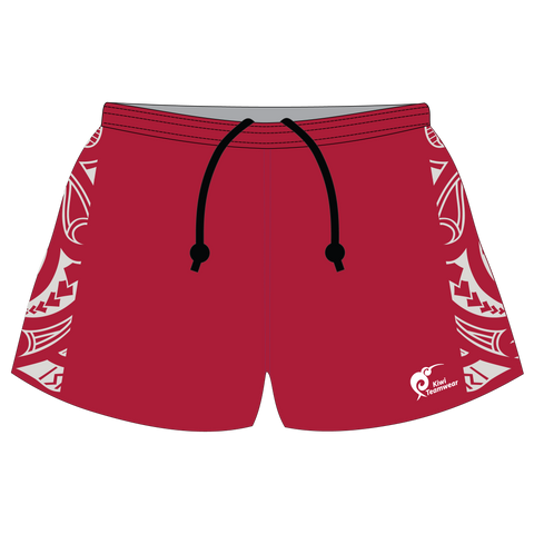 Image of Mens Sublimated Rugby Shorts - Type A190041SRS